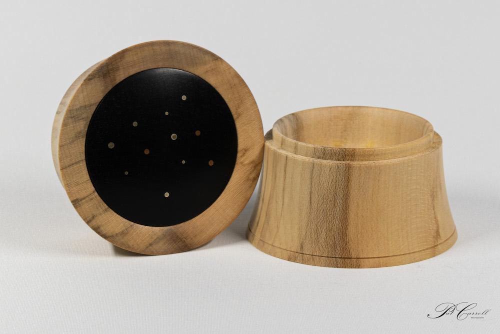 Decorated Square Platter